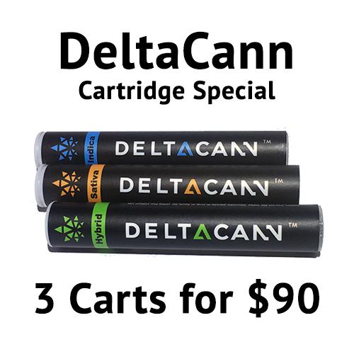 DeltaCann Cartidges